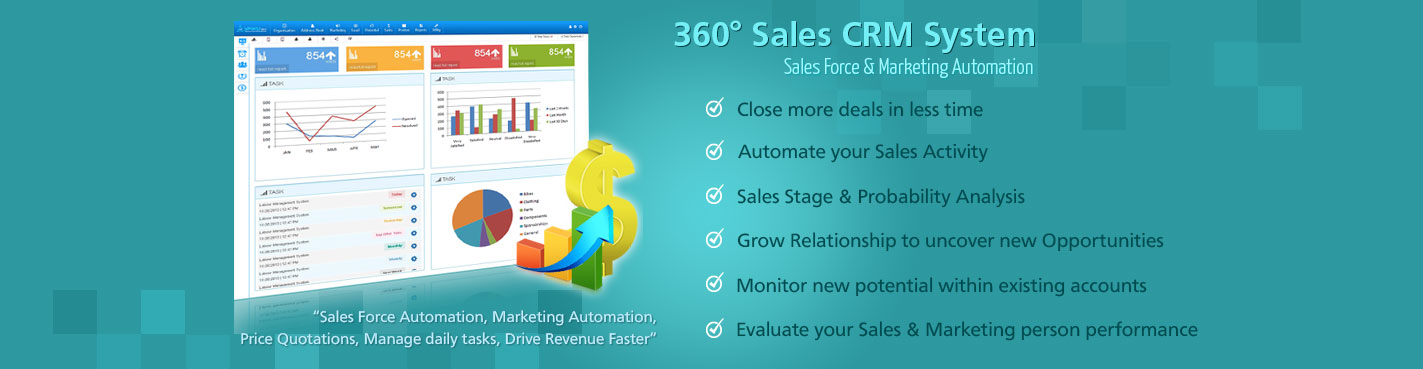 360° Sales CRM System