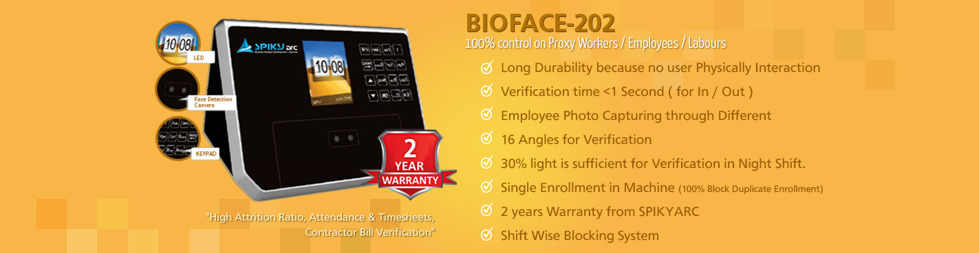 Biometric & Face Reader (Attendance Machine)